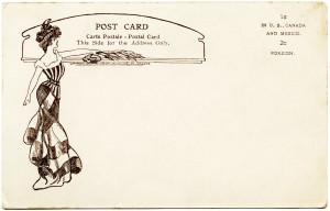 Adolph Selige, vintage postcard back, old paper graphics, vintage ephemera, free digital graphics
