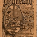 delineator magazine, vintage graphics, old paper, digital grungy paper, old sewing magazine, antique magazine cover, vintage ephemera