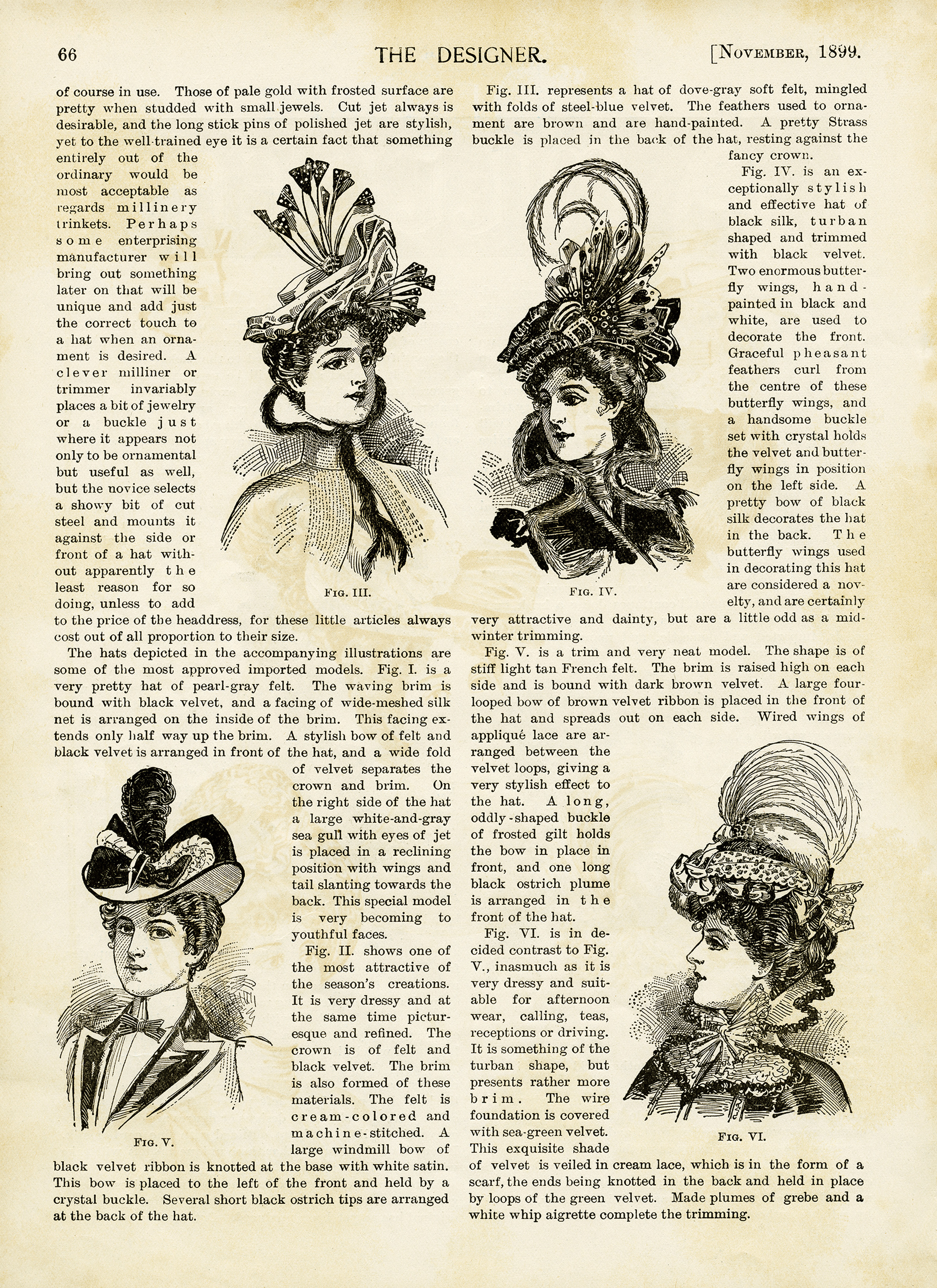 Vintage Fashion Articles