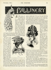 Free Victorian hats for ladies book pagd