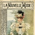Free vintage clipart French fashion La Nouvelle Mode magazine cover
