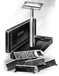 Free vintage shaving razor clip art