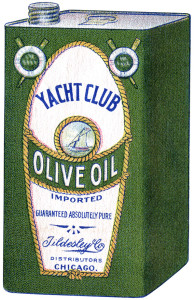 Free vintage printable book page yacht club olive oil
