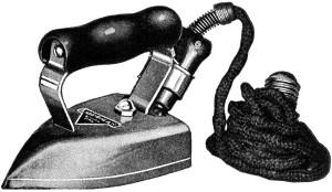 Free vintage clip art iron