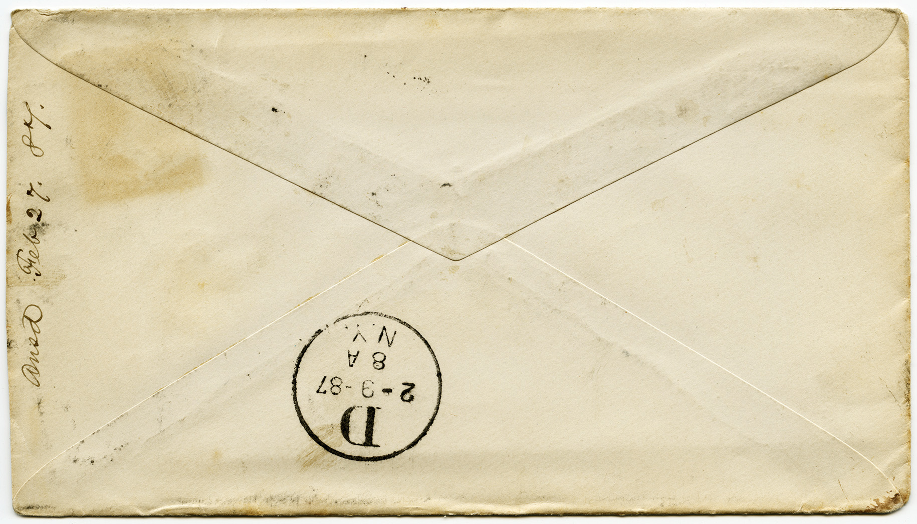 Old Fashioned Envelope Template