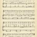 vintage sheet music, antique music for children, digital song sheet, three little kittens, mother goose nursery rhyme graphics
