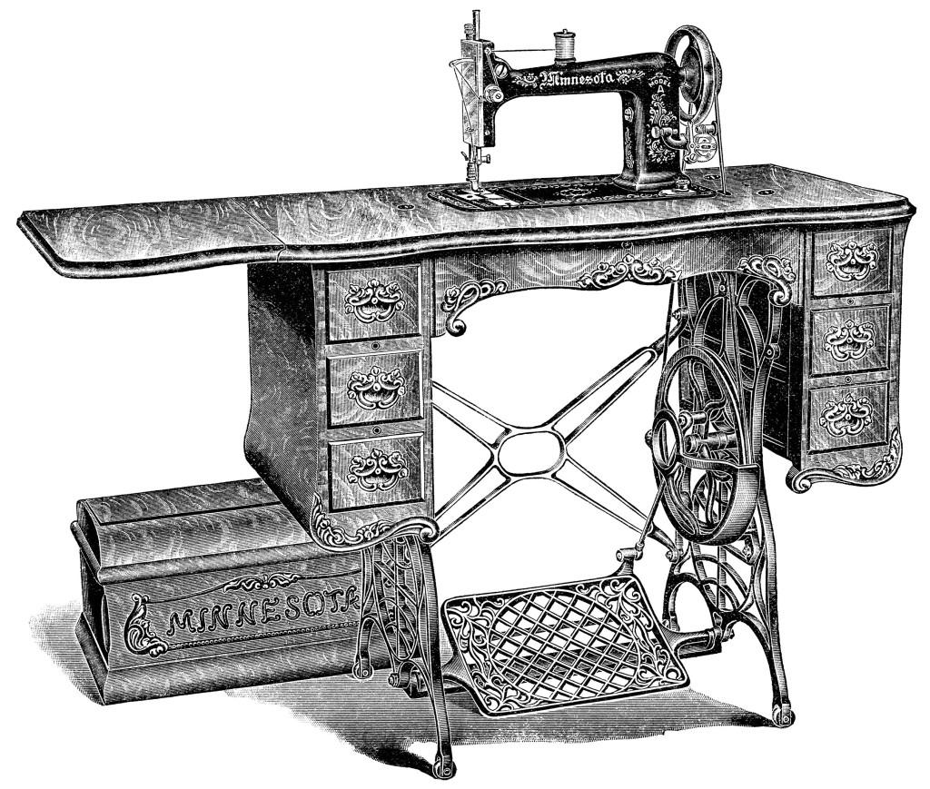 Картинки швейных машинок от старинных до современных удивить друзей