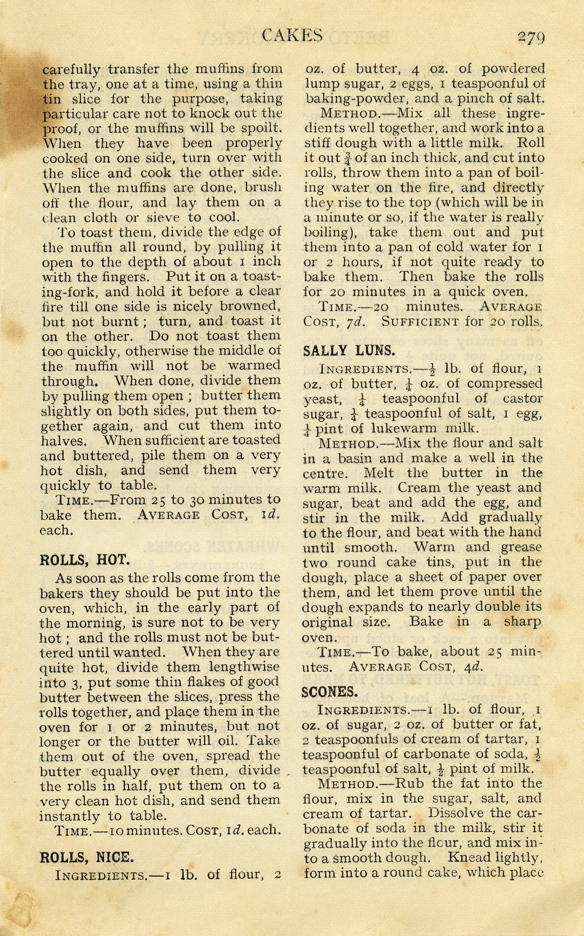 Free Vintage Image Grungy Cookbook Pages | Old Design Shop ...