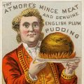 Atmore's trade card english plum pudding free vintage clip art