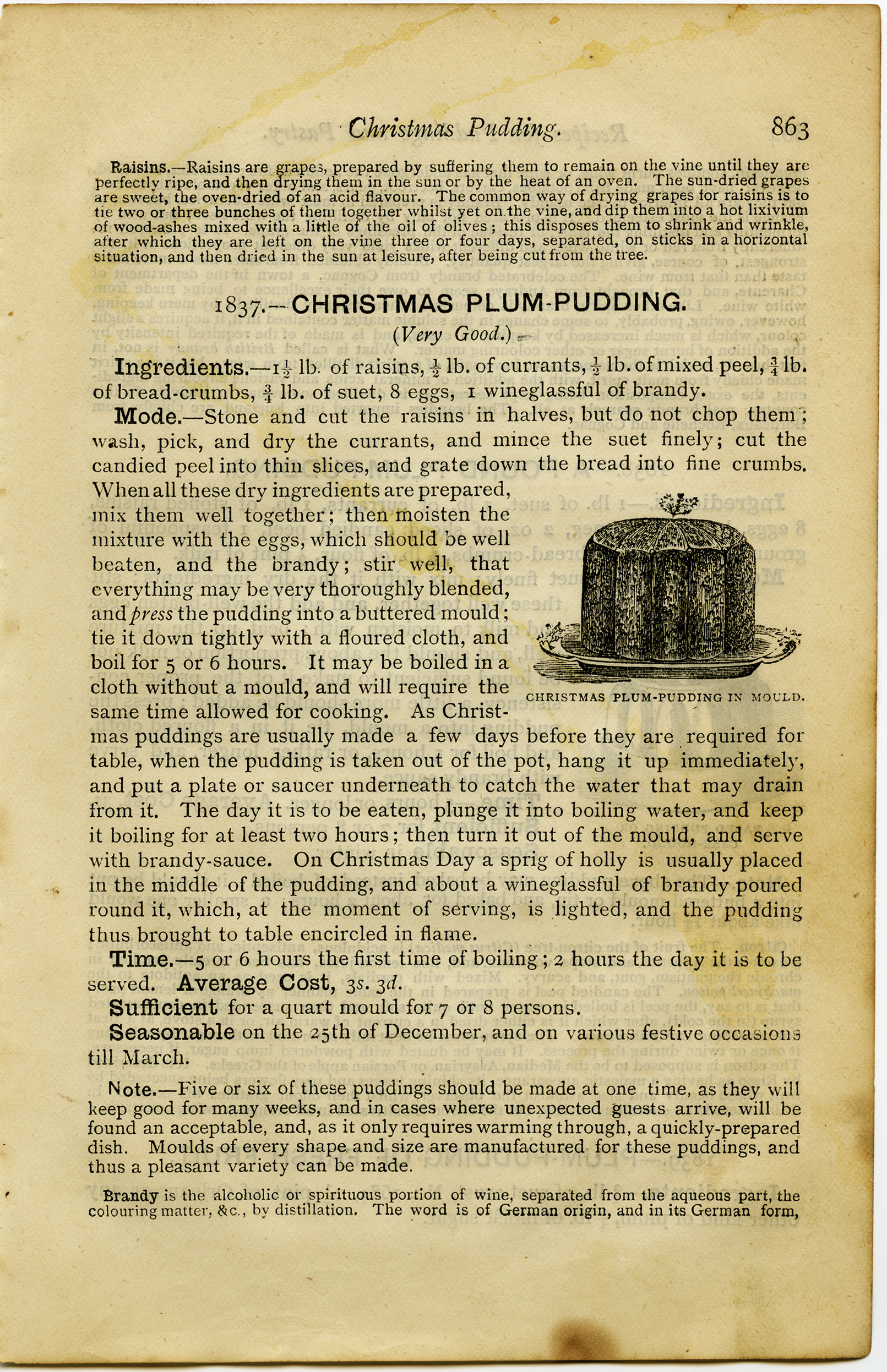 Old Fashioned White Christmas Recipe