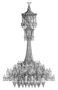 vintage chandelier clipart, free black and white clip art, antique lighting illustration, victorian chandelier engraving, digital chandelier graphic