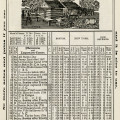 herricks almanac nov 1906, old book page, digital vintage ephemera, shabby paper graphic