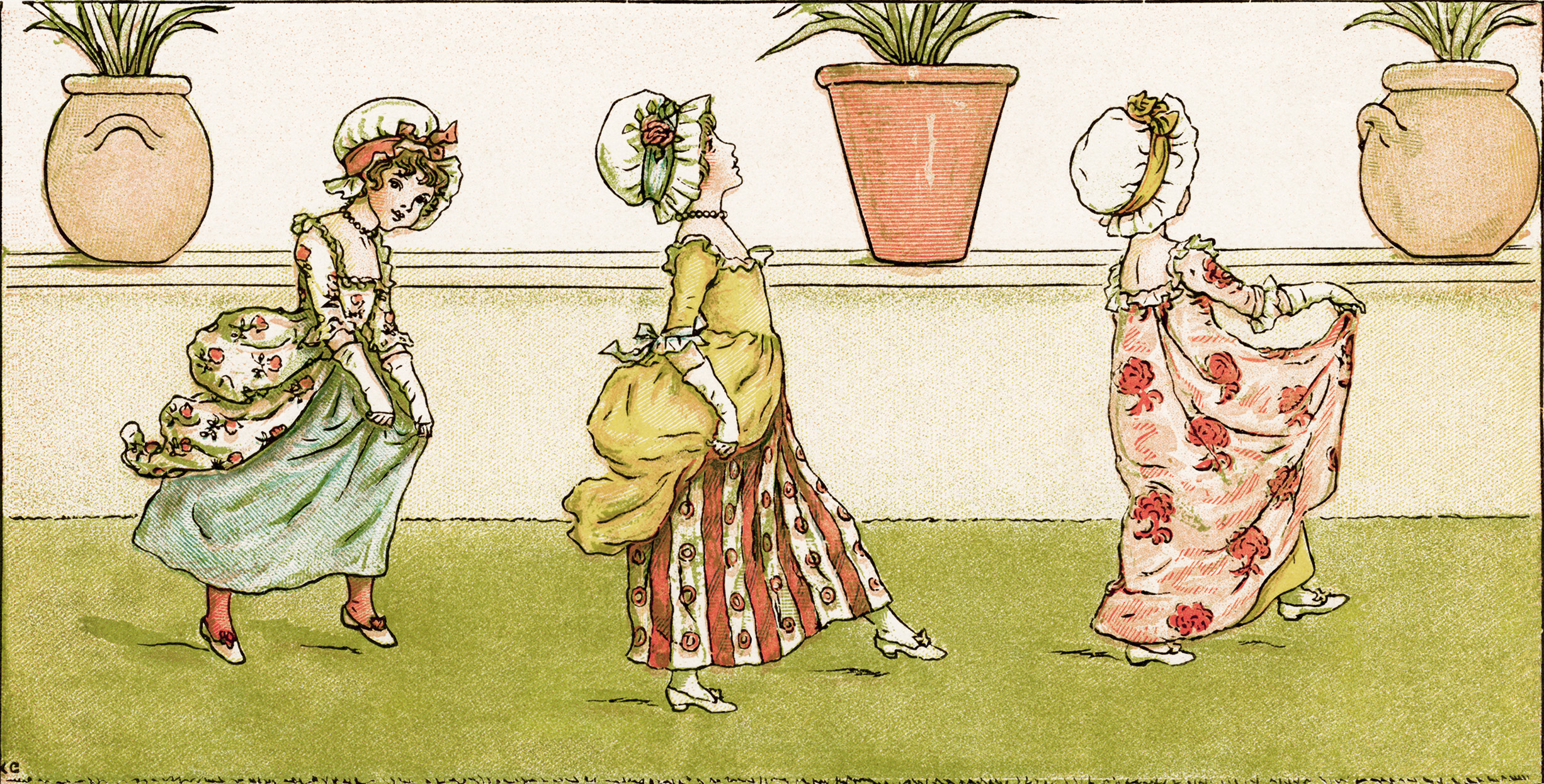 Tip-A-Toe By Kate Greenaway