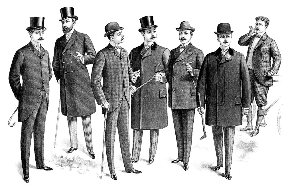 Vintage Men S Clothing Catalogue Page And Clip Art Free