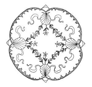 vintage embroidery design, free black and white clip art, antique swirly sketch, ornamental  graphic, sewing clipart