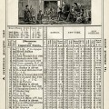 digital vintage ephemera, herricks almanac dec 1906, old book page, shabby paper graphic