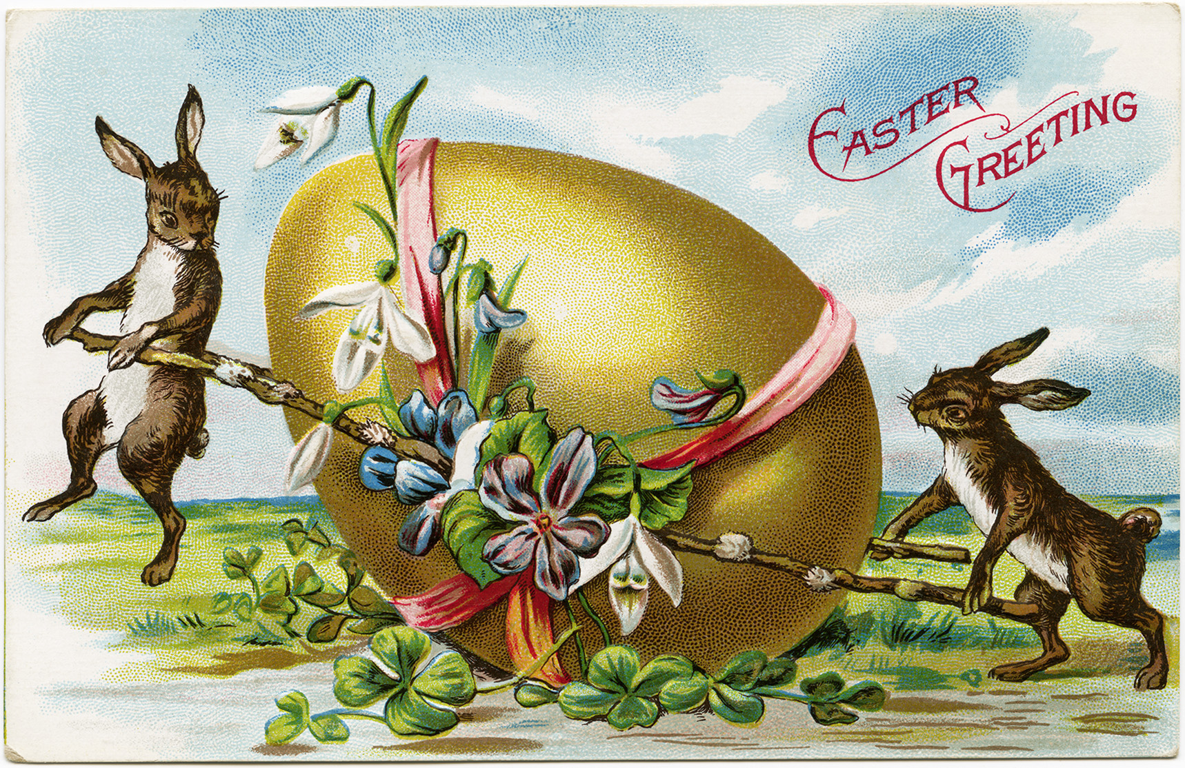 Victorian Easter Clipart - Vintage Easter Egg Png , Transparent Cartoon -  Jing.fm