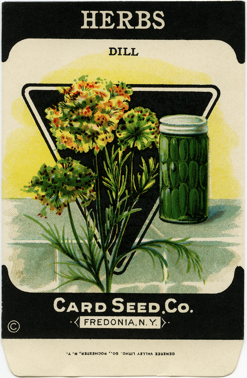 vintage dill herb seed packet   free digital graphics pulling weeds clip art seaweeds clipart