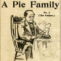 man eating pie free vintage atmores magazine advertisement clip art