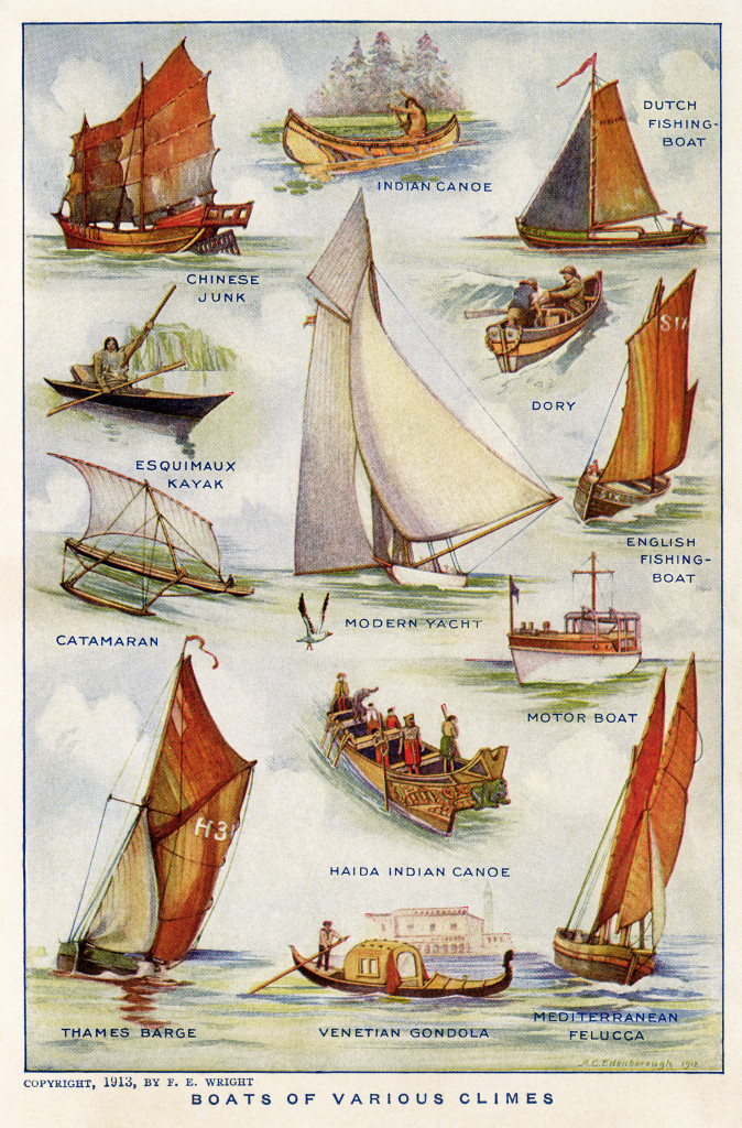 boats of various climes