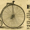 Free vintage clip art image columbia bicycle magazine advertisement