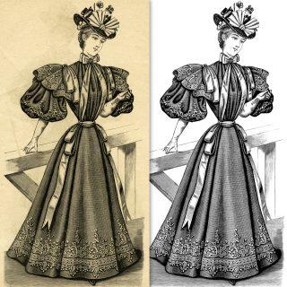 vintage ladies fashion