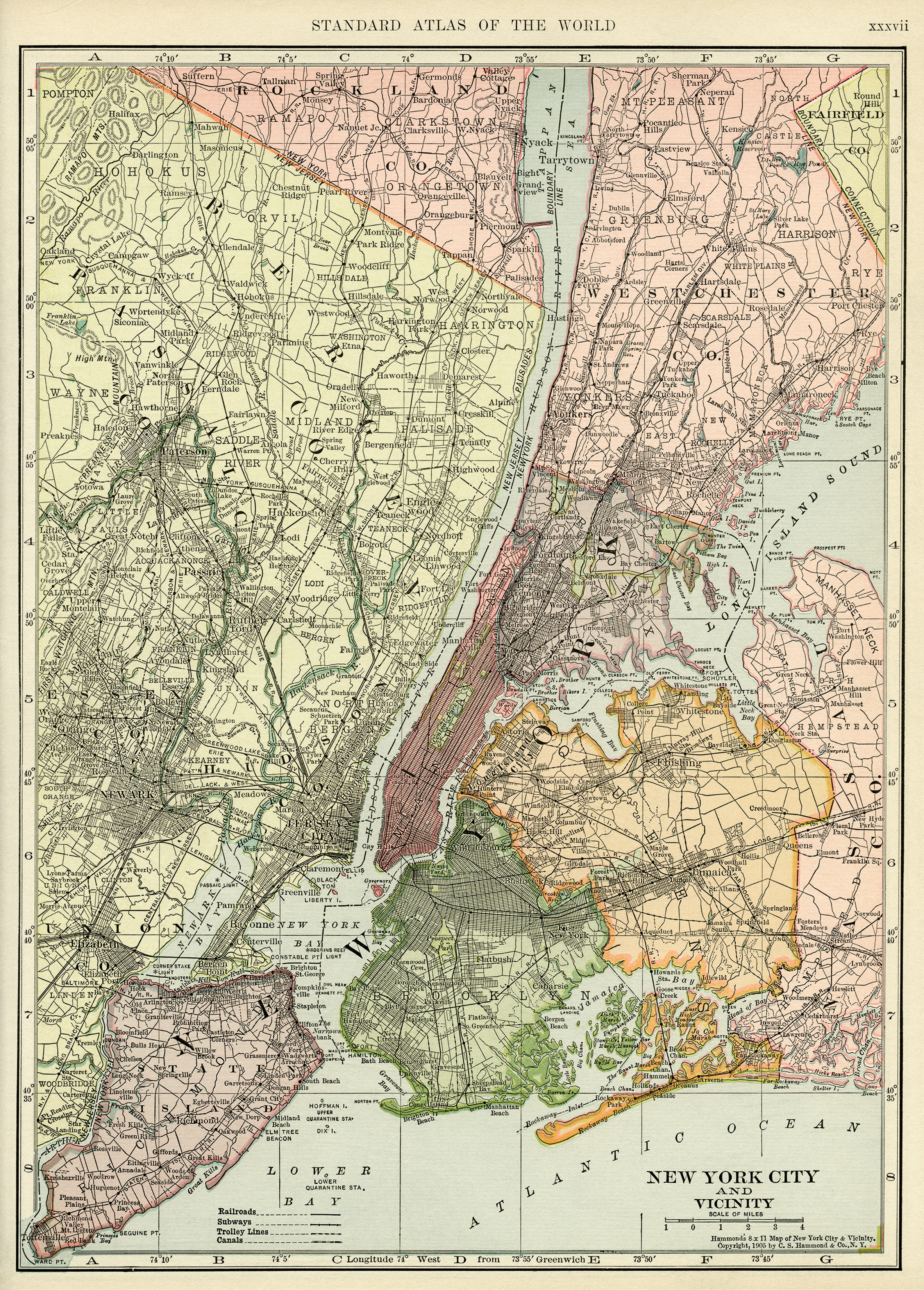 Free Map Of New York City.Map Of New York City Free Vintage Image Old Design Shop Blog