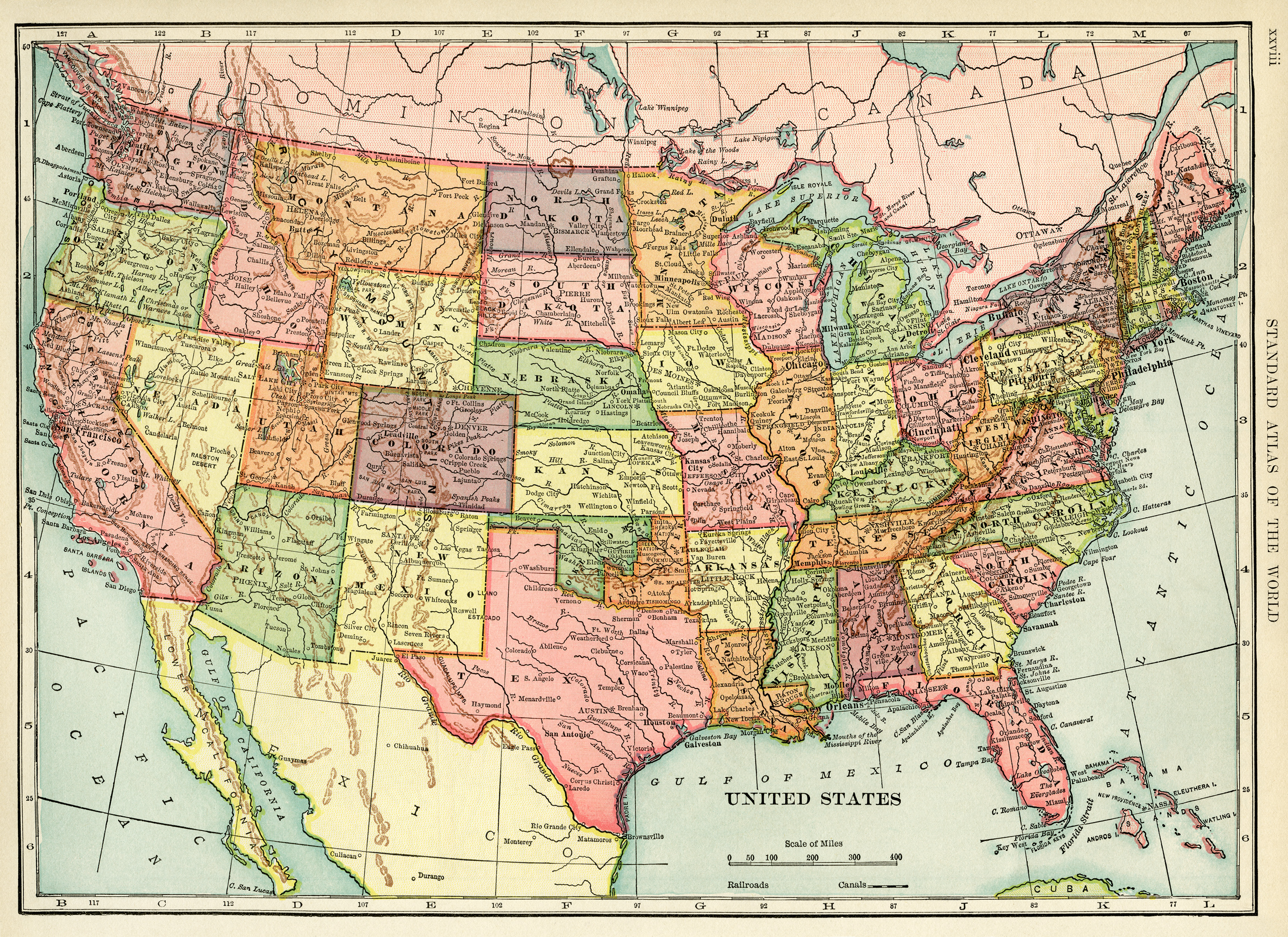 Maps Old Design Shop Blog - Give me the map of the united states