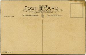 vintage postcard back, shabby postcard digital, grunge paper graphic, victorian ephemera free, old paper image
