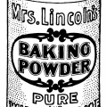 black and white clipart, vintage kitchen clip art, antique magazine ad, baking powder clip art, vintage food graphics