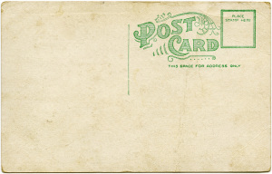 Free vintage postcard digital
