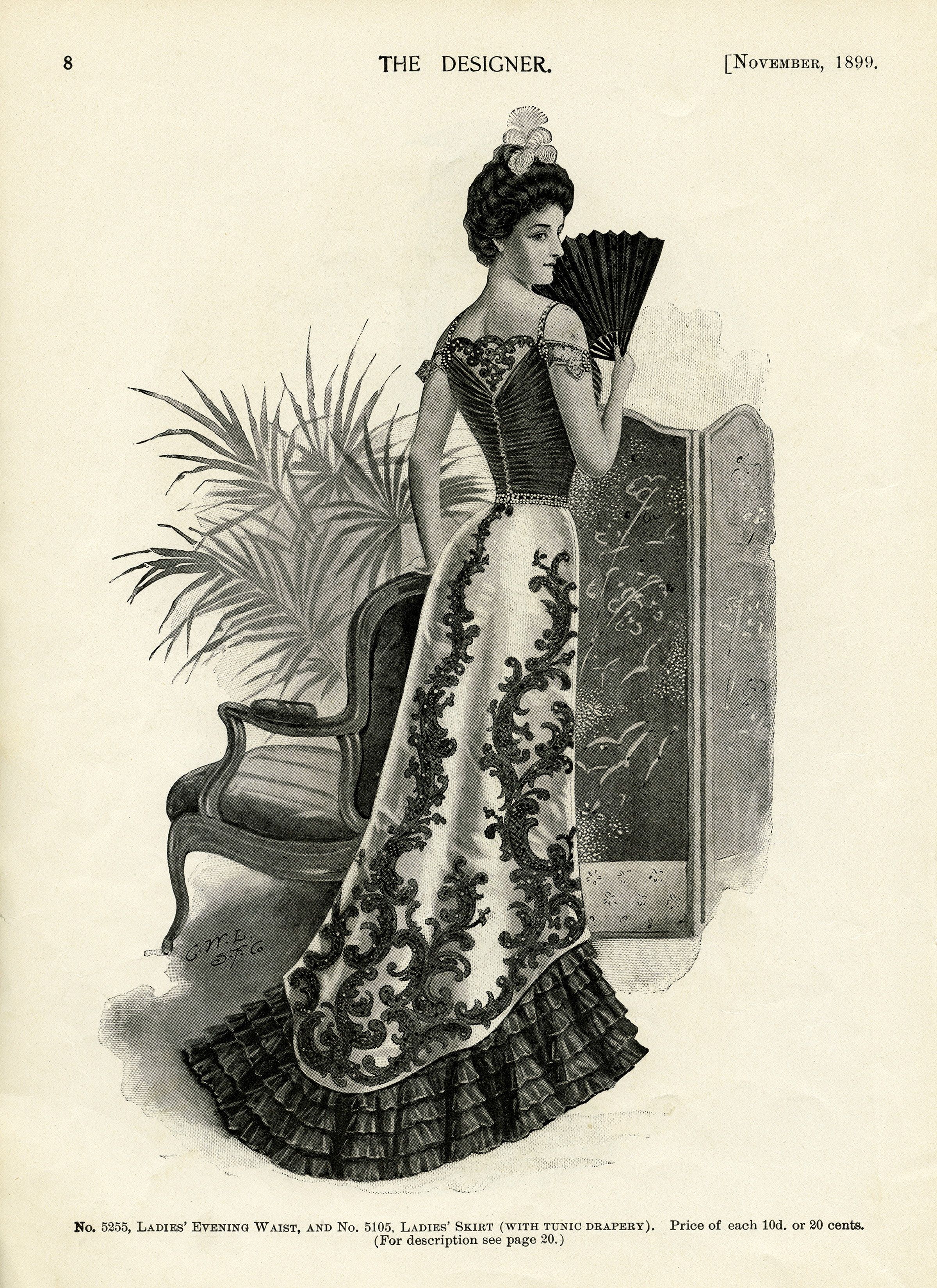 Victorian Evening Gown Old Design Shop Blog