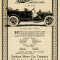 Packard motor car, vintage car clip art, antique vehicle illustration, old magazine advertisement, packard touring car 1910