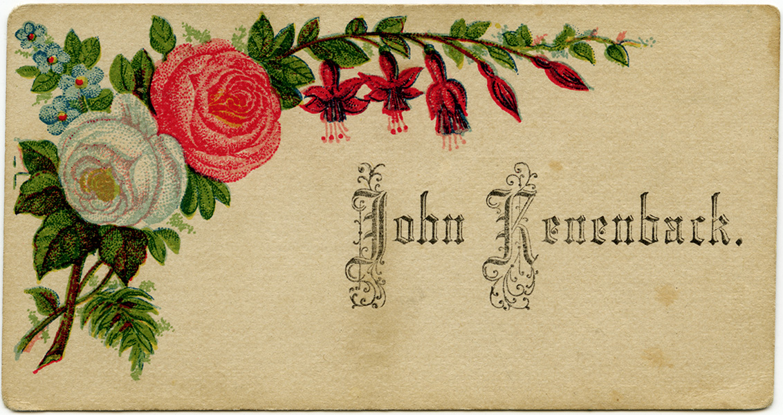 Shabby Victorian Calling Cards - Old Design Shop Blog