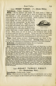 old book paper, cooking turkey recipes, black and white clip art, vintage food printable, old cookbook page, roast turkey illustration