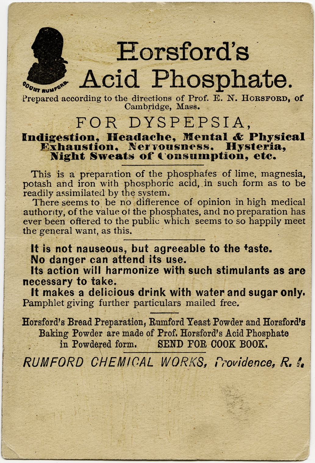 Horsfords Acid Phosphate Old Design Shop Blog