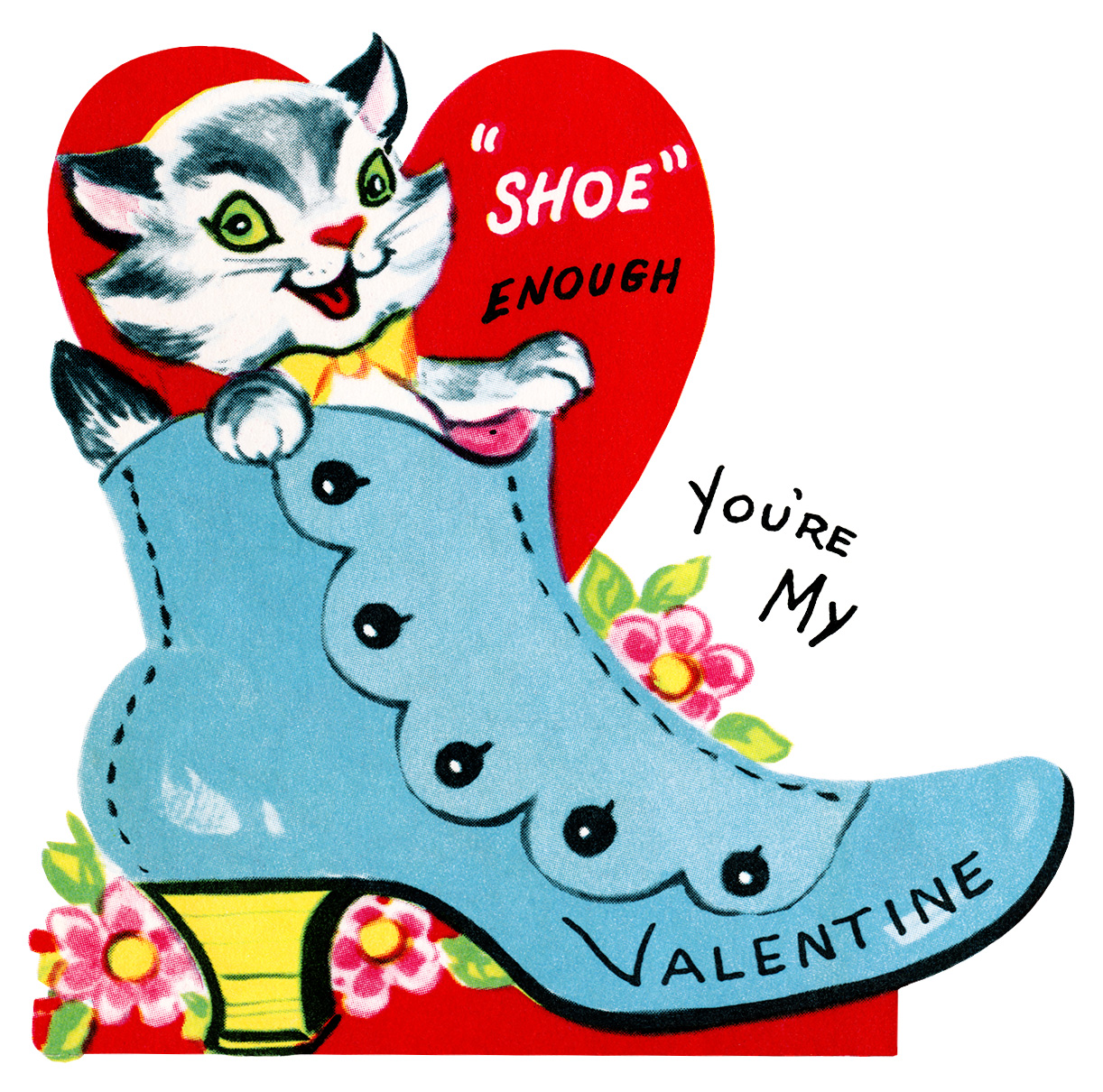 Shoe Enough Cat Valentine  Old Design Shop Blog