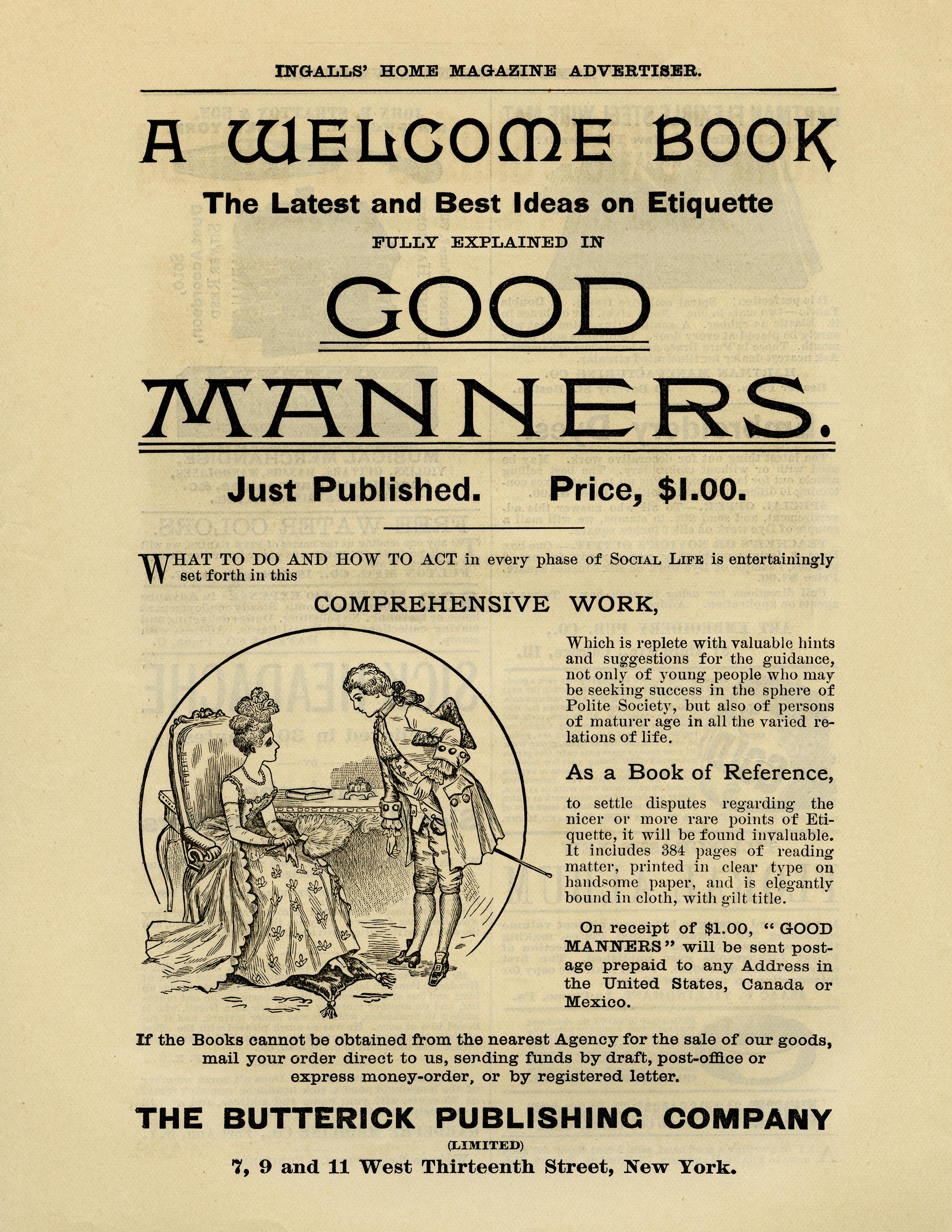 victorian etiquette book