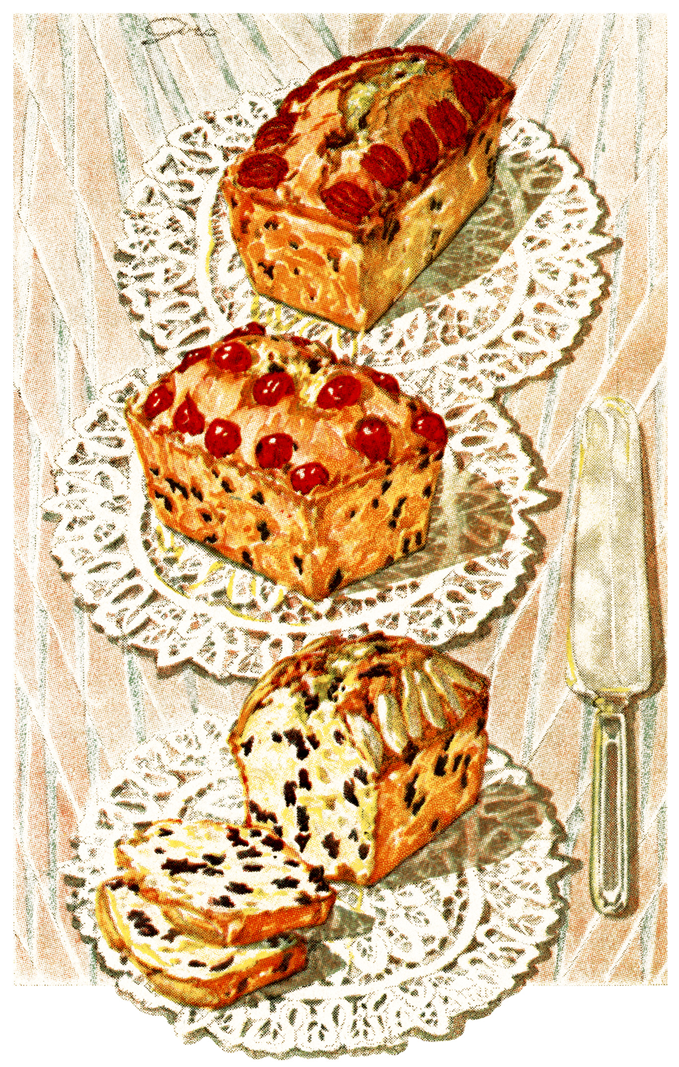 Dundee Cake Clip Art : OldDesignShop_EnglishDundeeCake3 Old Design Shop Blog