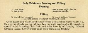 vintage recipe clip art, frosting recipe, antique recipe clipping, vintage kitchen graphics, vintage ephemera, digital download