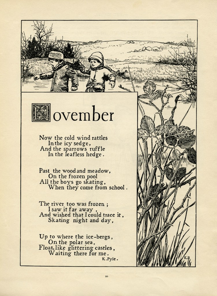 November Poem By K Pyle Old Design Shop Blog