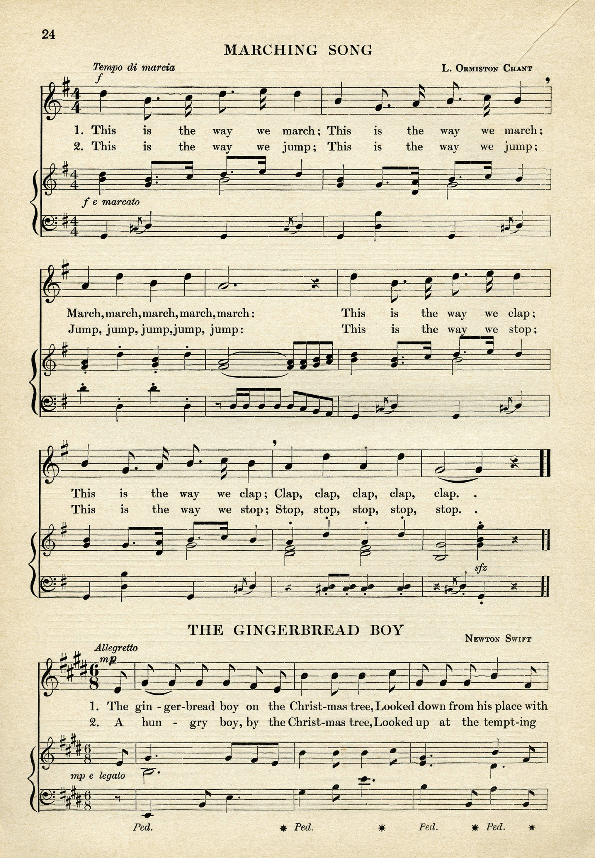 photograph about Vintage Sheet Music Printable known as Printable Antique Sheet Tunes - Previous Style Retail store Site