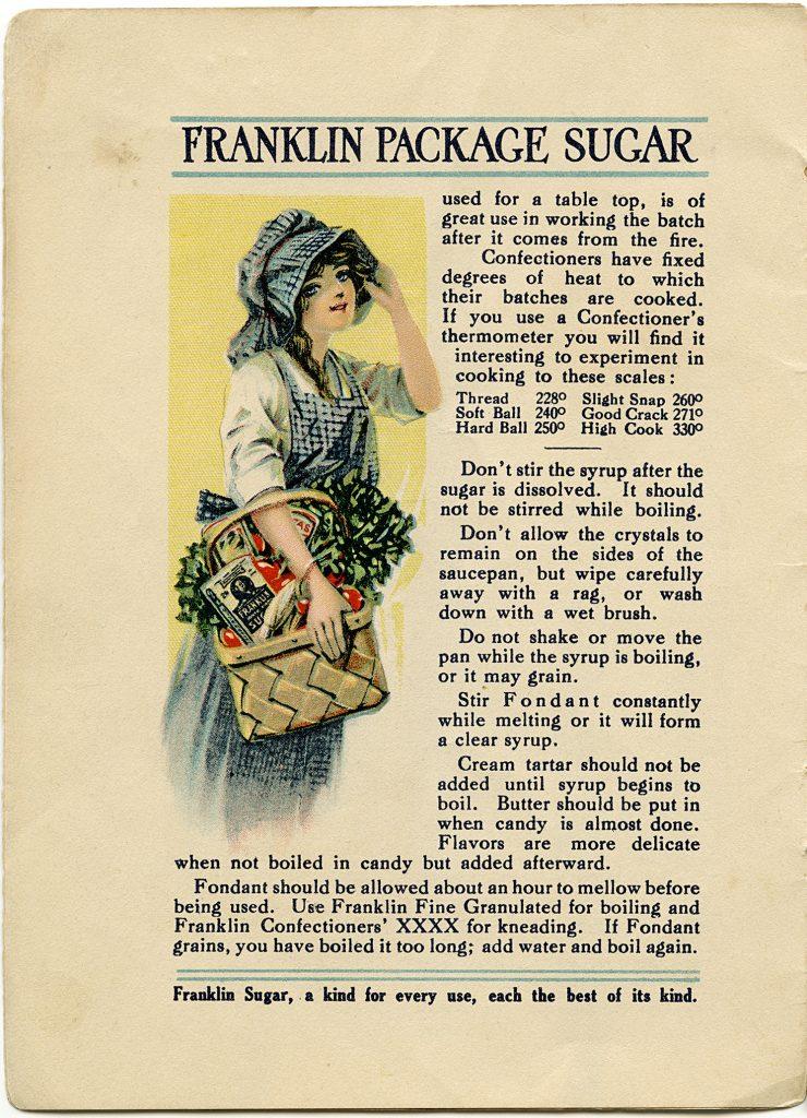 Franklin Sugar Cookbook Pages Old Design Shop Blog