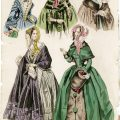 Belle Assemblee, vintage fashion, antique ladies clothing, junk journal printable