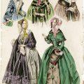 Belle Assemblee, vintage fashion, antique ladies clothing, junk journal printable