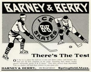 free printable vintage clip art ice skates advertisement