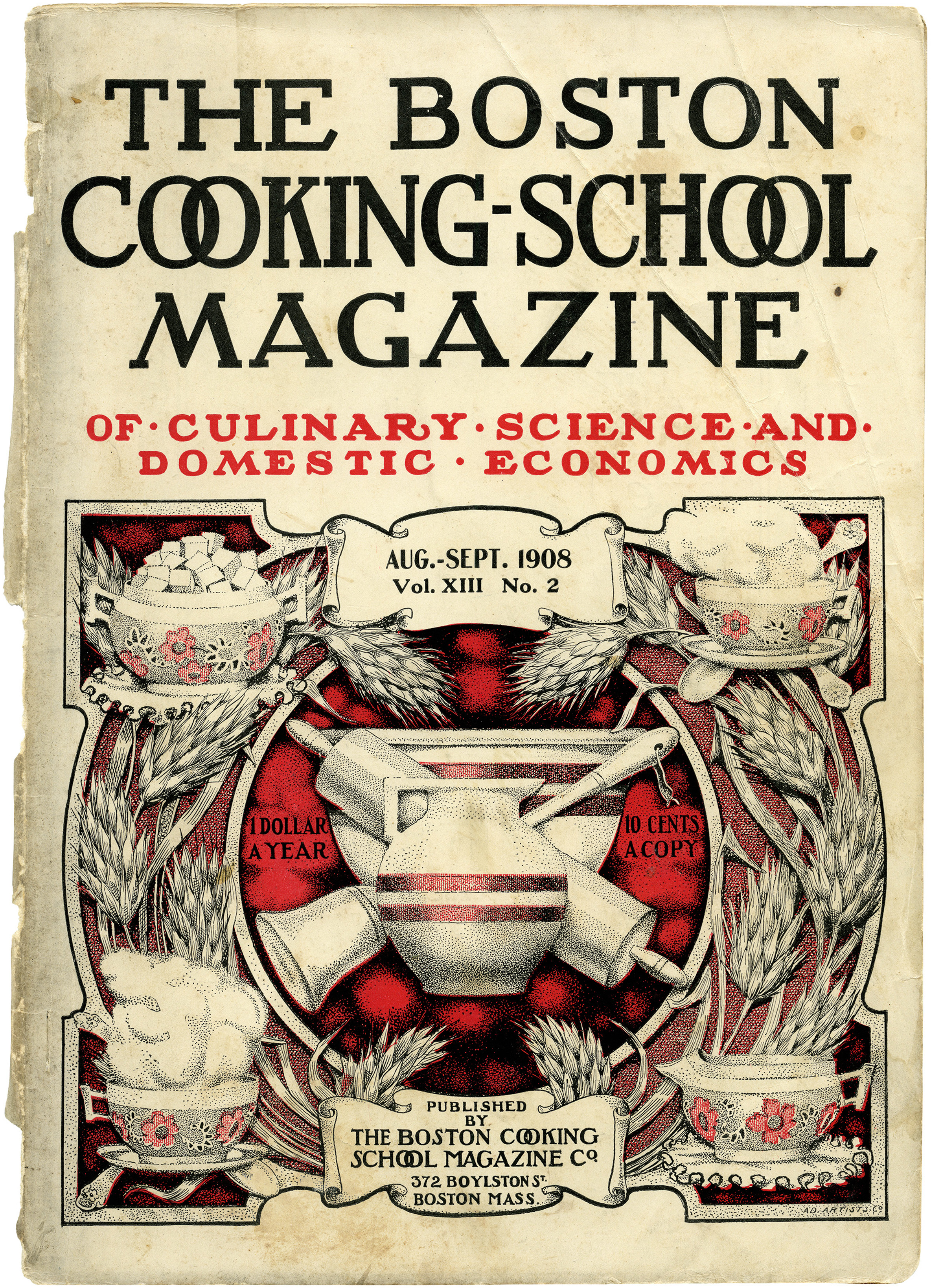 Shabby Cooking School Magazine Cover Old Design Shop Blog