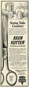 Free Vintage Clip Art Scissors Magazine Advertisement