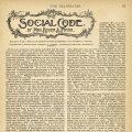 social code magazine article
