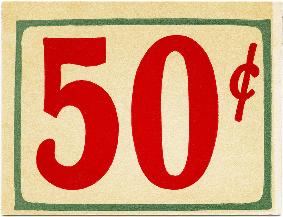 Free Vintage Clip Art Grocery Store Price Tags - Old ...